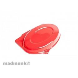 Cache batterie gauche rouge