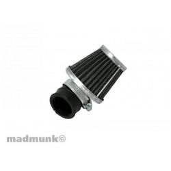 filtre à air kn coudé 45° 35mm