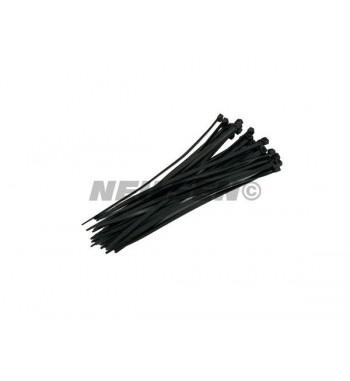 30 colliers zip noir 4.8mm...