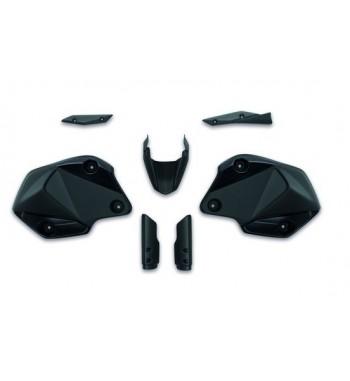 Pack carrosserie motard noir